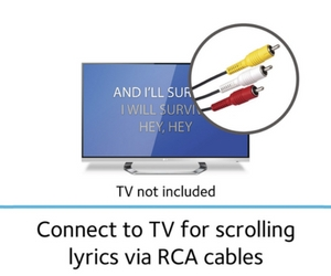 Connects to TV easily