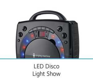 Includes Disco Lights