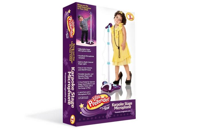 Little Pretender Karaoke Stage Microphone Box