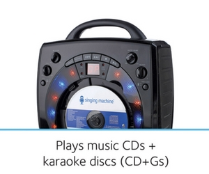 Play both CDs and CD+Gs