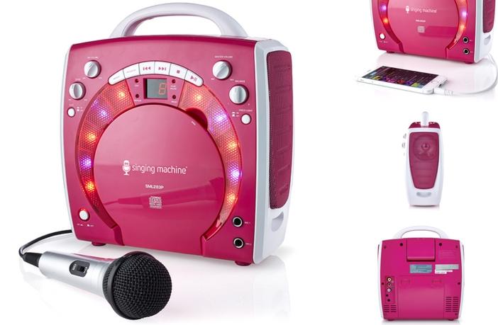 Singing Machine SML-283P Features