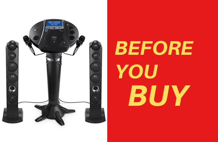 Singing Machine ISM1030BT Detailed Review