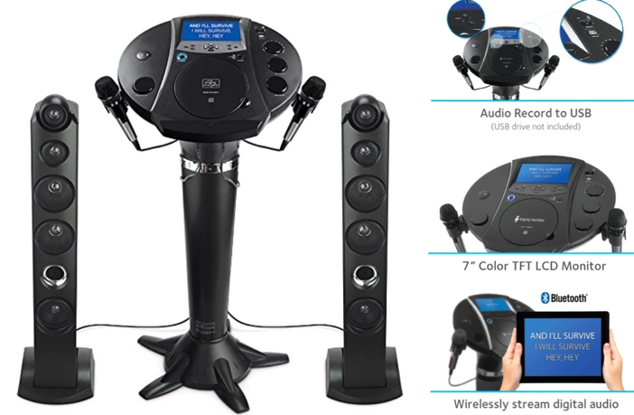 Singing Machine ISM1030BT Features