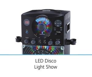 Built-in Disco LED lights