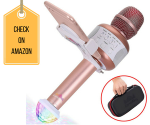 KaraoKing Wireless Bluetooth Karaoke Microphone