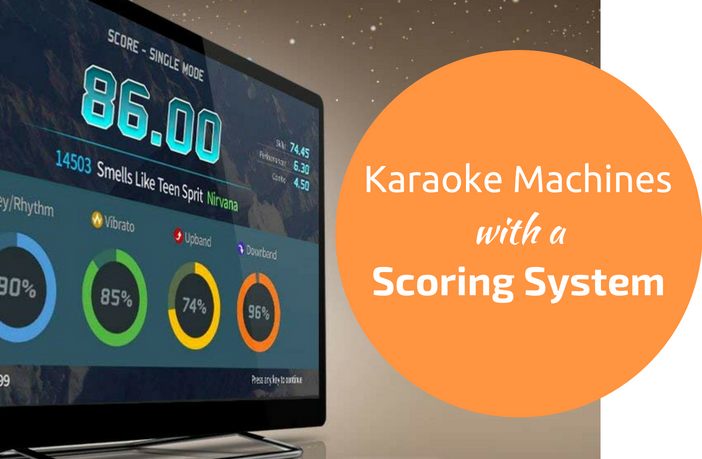 Karaoke Machine With Scoring System